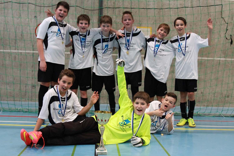 Sensationeller Turniersieg in Lenzburg am 10. Jan. 2015 der Junioren D9a
